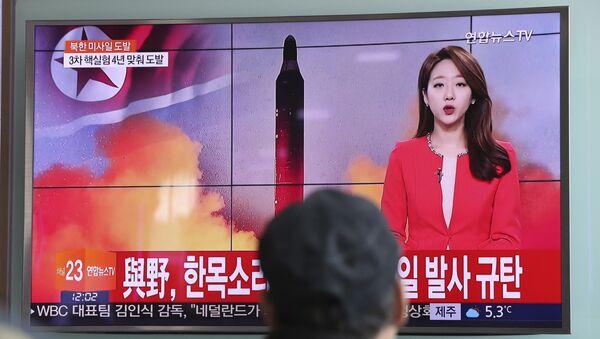Missile nordcoreano - Sputnik Italia