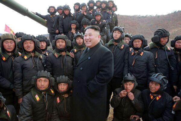 Il leader supremo della Repubblica Popolare Democratica di Corea Kim Jong-un. - Sputnik Italia
