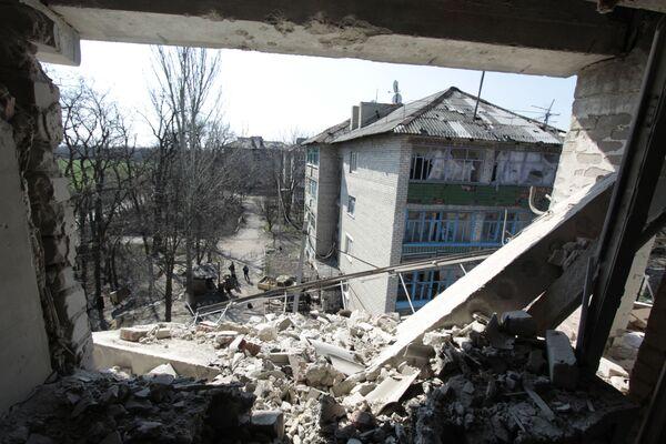 La situazione a Donetsk. - Sputnik Italia