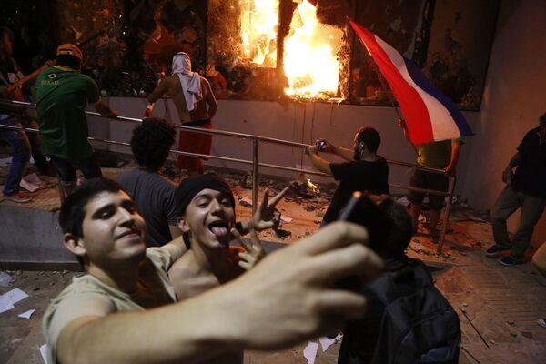 Le manifestazioni nel Paraguay. - Sputnik Italia