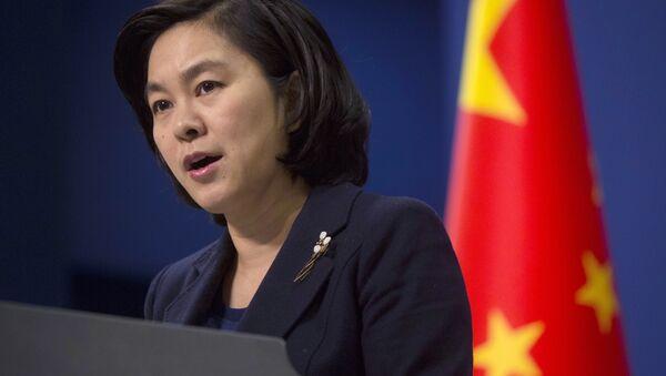 Portavoce del ministero degli Esteri cinese Hua Chunying - Sputnik Italia