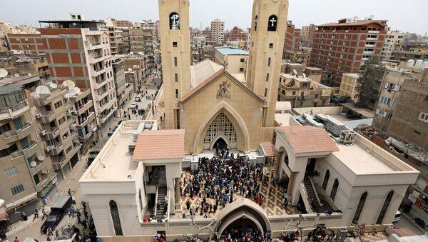 La chiesa colpita dall'attentato. - Sputnik Italia