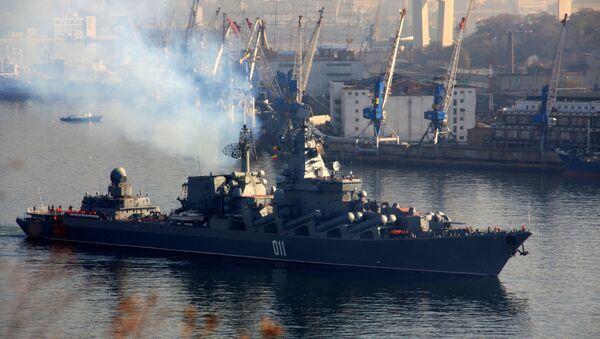 "incrociatore missilistico ""Varyag"" - Sputnik Italia"