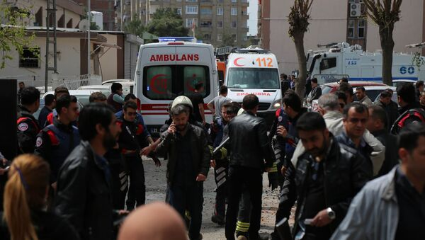 Esplosione a Diyarbakir - Sputnik Italia