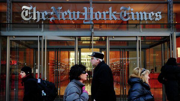 La sede del New York Times a New York - Sputnik Italia