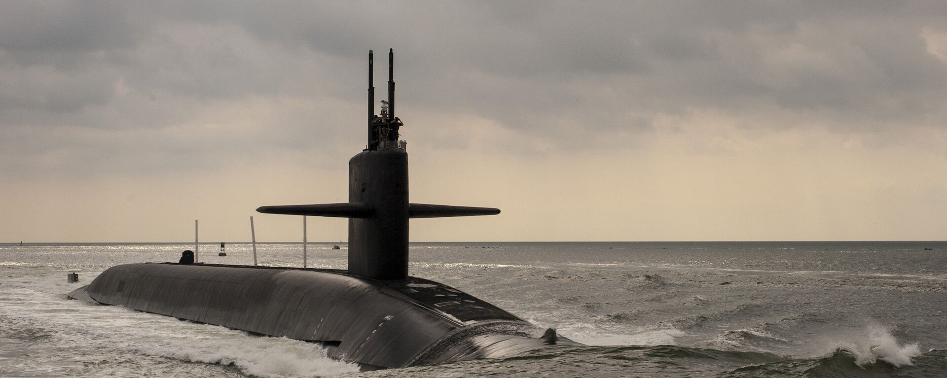 Sottomarino nucleare USA di classe Ohio  - Sputnik Italia, 1920, 24.09.2021