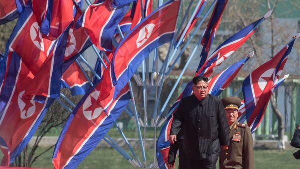 Il capo della Corea del Nord Kim Jong Un a Pyongyang - Sputnik Italia