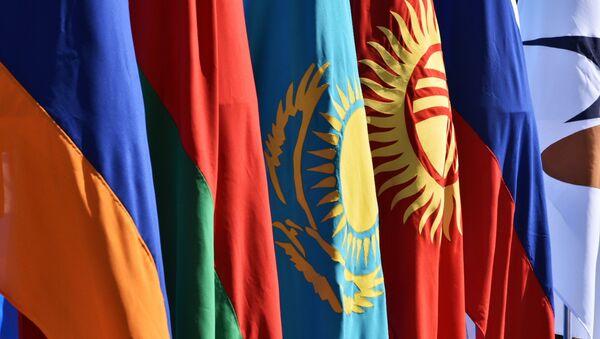 Le bandiere dei paesi appartenenti all'UEE - Sputnik Italia