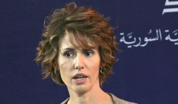 Asma al-Assad - Sputnik Italia