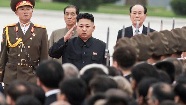 Kim Jong Un a Pyongyang, Corea del Nord. - Sputnik Italia