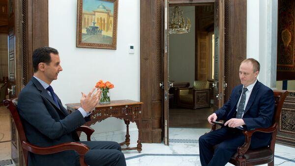 Assad intervistato da Sputnik - Sputnik Italia