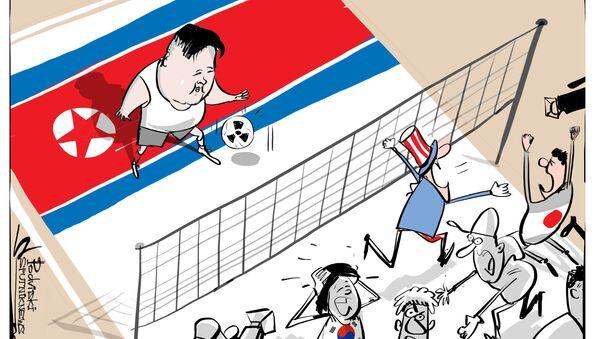 L'unico luogo dove non c'è panico paradossalmente è la Corea del Nord. - Sputnik Italia
