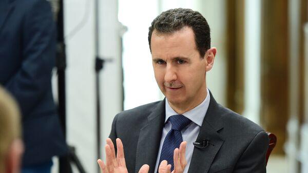 Il presidente siriano Bashar al-Assad - Sputnik Italia