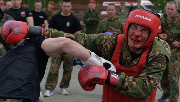 Quanto sei forte per entrare nelle forze speciali? - Sputnik Italia