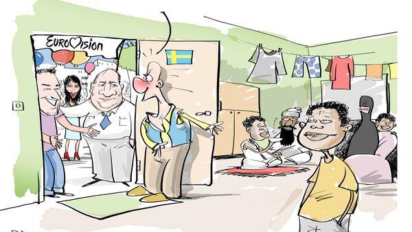 Eurovisione 2016, tutti in Svezia! - Sputnik Italia