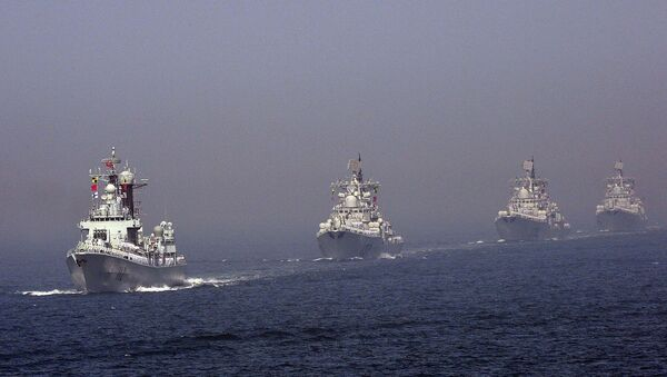 La flotta cinese nel Mar Giallo (foto d'archivio) - Sputnik Italia