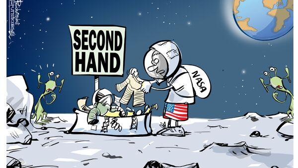 NASA e second hand - Sputnik Italia