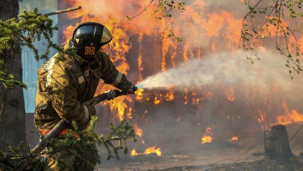 Incendio boschivo, Russia - Sputnik Italia