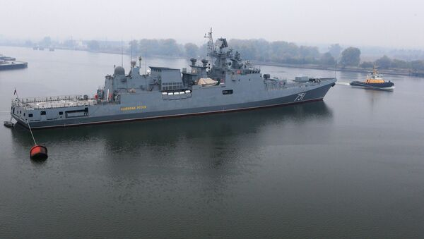 La fregata Admiral Essen - Sputnik Italia