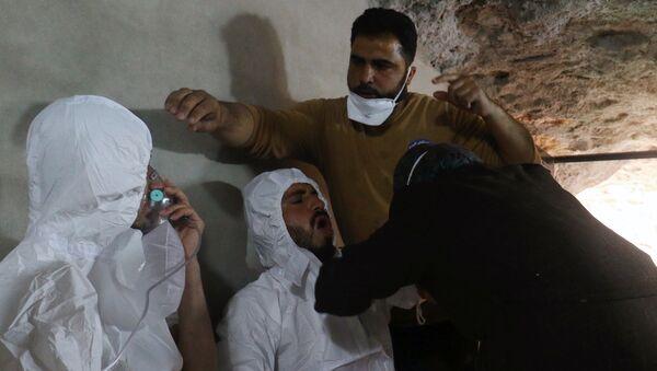 Messa in scena attacco armi chimiche Idlib - Sputnik Italia