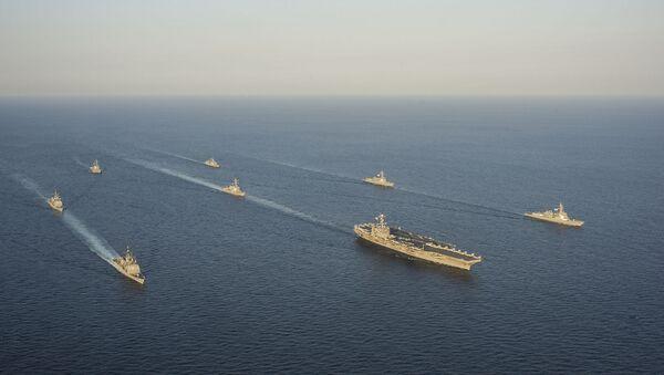 Flotta degli Stati Uniti e alleati nella regione Asia-Pacifico - Sputnik Italia