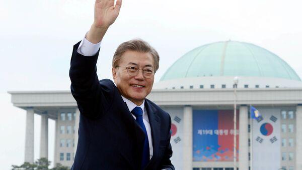Il presidente eletto della Corea del Sud, Moon Jae-in - Sputnik Italia