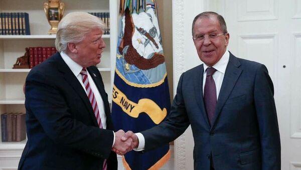 Incontro tra Sergei Lavrov e Donald Trump alla Casa Bianca, Washington - Sputnik Italia