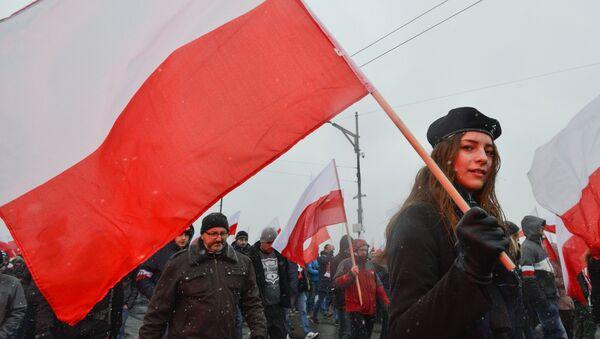 La bandiera della Polonia - Sputnik Italia