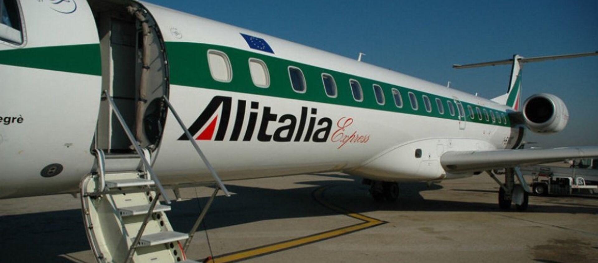 Un aereo dell'Alitalia. - Sputnik Italia, 1920, 27.03.2021