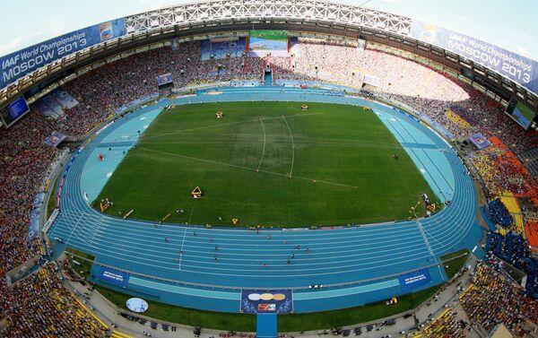 Lo stadio Luzhniki di Mosca, che ha ospitato i Mondiali di Atletica del 2013 - Sputnik Italia