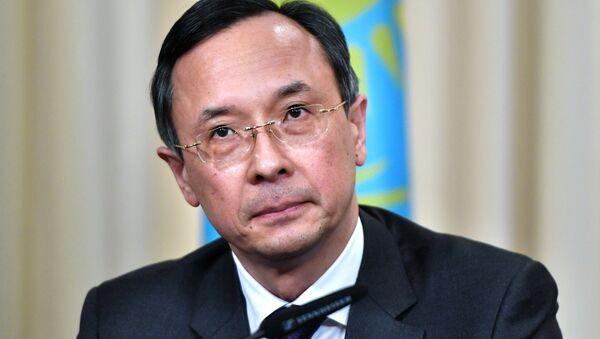 Foreign Minister of Kazakhstan Kairat Abdrakhmanov - Sputnik Italia