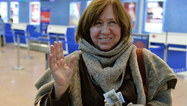 Svetlana Aleksievich - Sputnik Italia