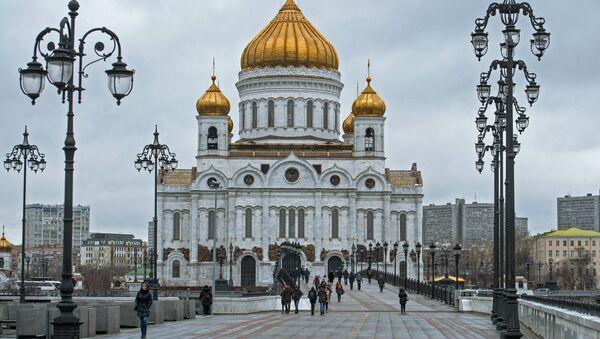 Cattedrale di Cristo Salvatore a Mosca - Sputnik Italia