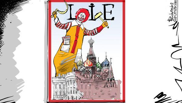 La nuova copertina del TIME - Sputnik Italia