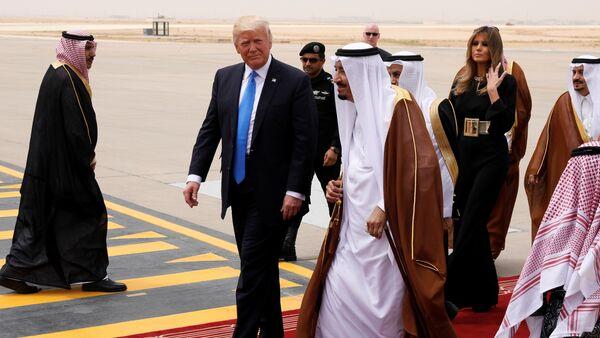 Trump in Arabia Saudita - Sputnik Italia