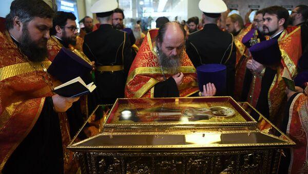 Le reliquie di San Nicola arrivano a Mosca per la prima volta - Sputnik Italia