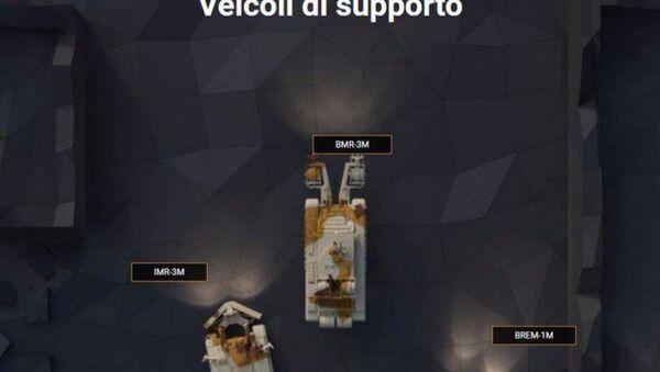 Veicoli di supporto - Sputnik Italia