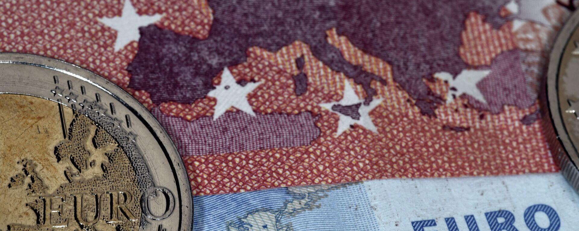 Monete e banconote di euro - Sputnik Italia, 1920, 20.07.2021