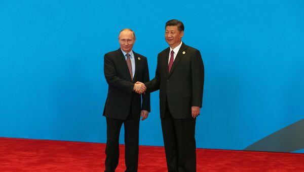 Xi Jinping a Vladimir Putin a Pechino, Cina - Sputnik Italia