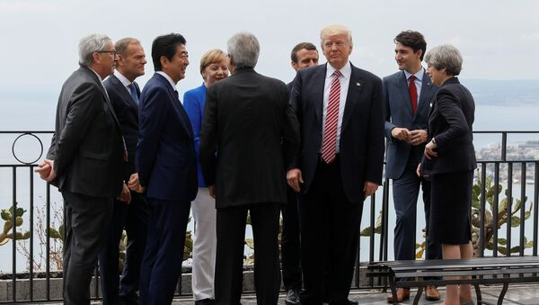 Vertice G7 a Taormina - Sputnik Italia