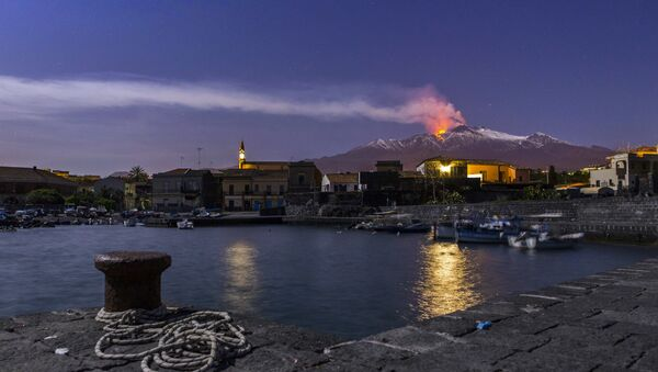 Eruzione dell'Etna, Sicilia - Sputnik Italia