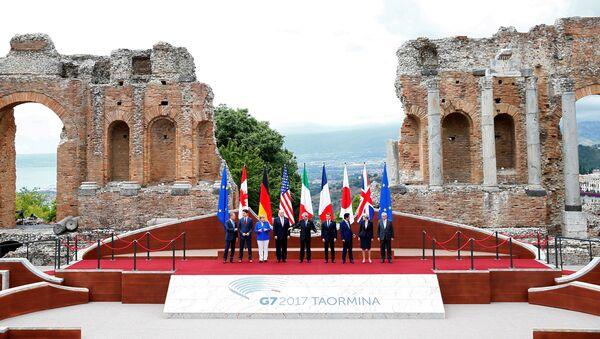I leader dei Gruppo dei Sette (G7) a Taormina, Italia - Sputnik Italia