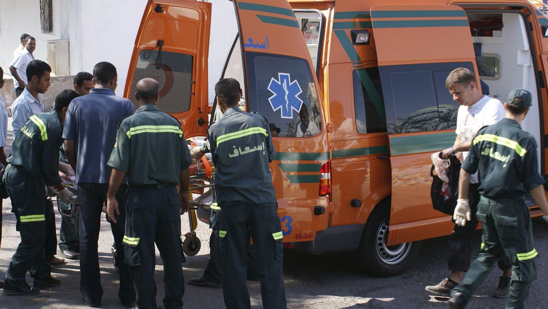 Ambulanza, Egitto - Sputnik Italia, 1920, 27.03.2021