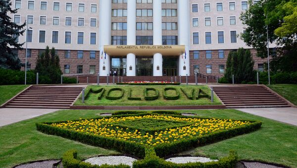 La sede del Parlamento della Moldavia a Chisinau - Sputnik Italia