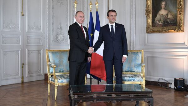 Putin e Macron - Sputnik Italia