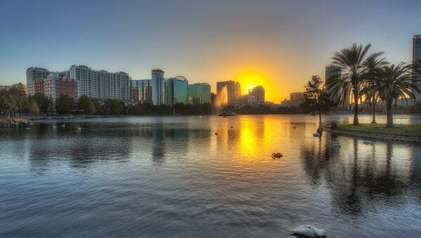 Lake Eola Sunset, Orlando, Florida - Sputnik Italia