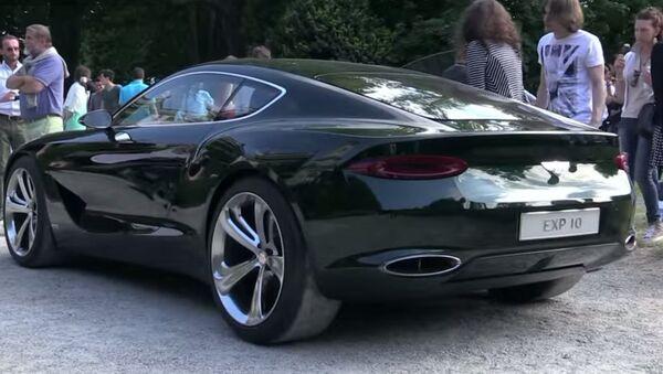 La Bentley a Villa D'Este - Sputnik Italia