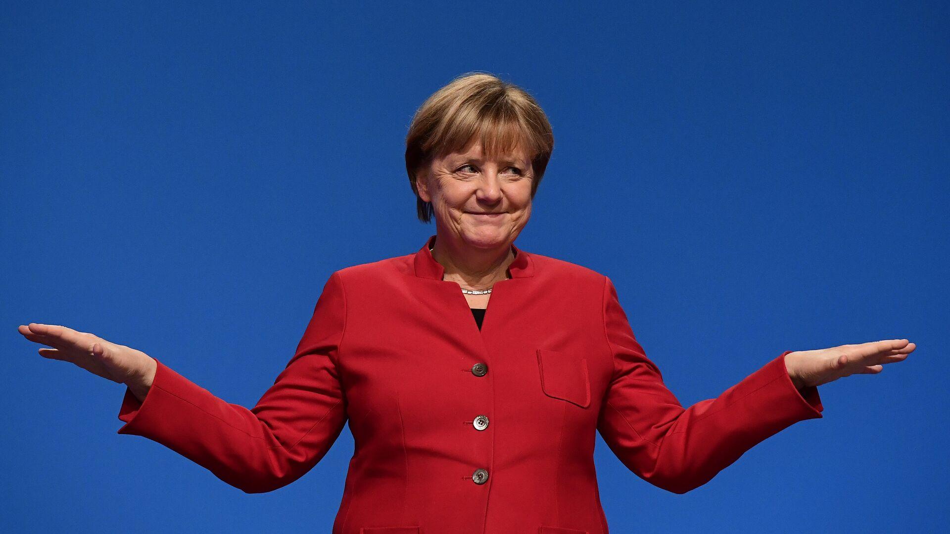 La canceliera della Germania Angela Merkel. - Sputnik Italia, 1920, 05.05.2021