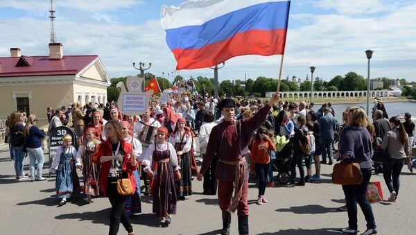 Celebrazioni del giorno della Russia - Sputnik Italia