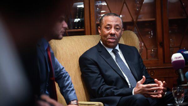 Libya's internationally recognised prime minister Abdullah al-Thani - Sputnik Italia
